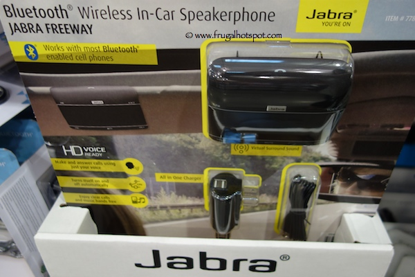 Jabra Freeway Wireless In-Car Speakerphone Costco