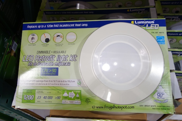 Luminus LED Retrofit Dimmable Light Kit Costco