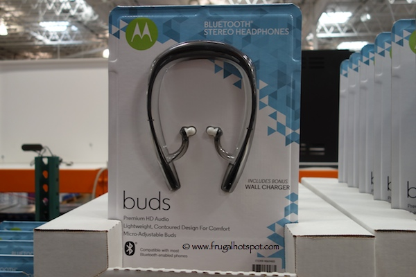 Motorola Buds Bluetooth Stereo Headphones Costco
