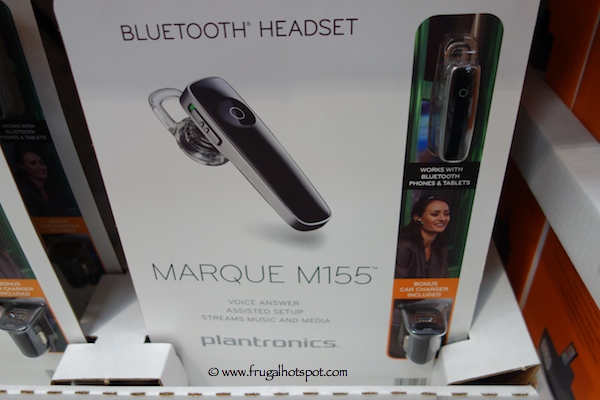 Plantronics Marque M155 Bluetooth Headset Costco