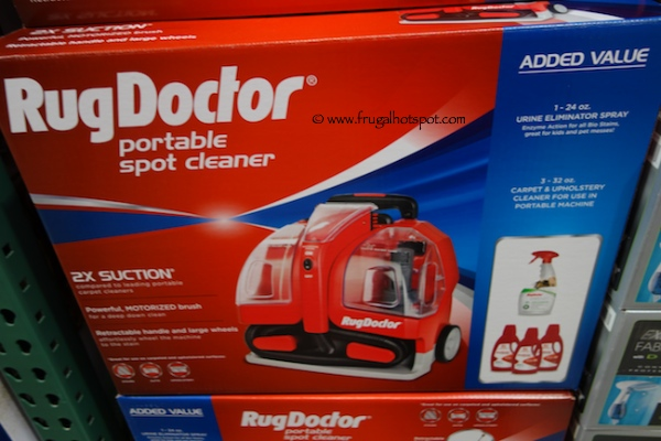 Rug Doctor Portable Spot Cleaner Costco