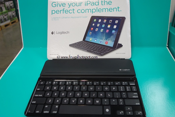 Logitech Bluetooth Keyboard Cover for iPad Air Costco