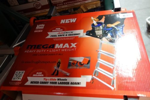 Little Giant MegaMax M17 Ladder at Costco