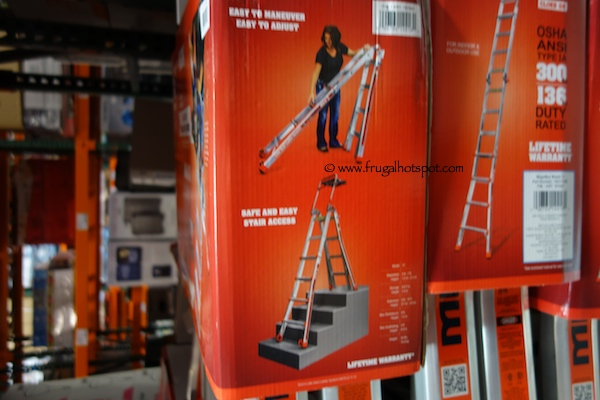 little giant ladder costco costco megamax 17 ladder 159 99 10522