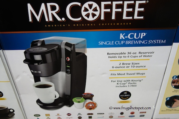 Costco Sale Mr Coffee K Cup Single Cup Brewing System 4999
