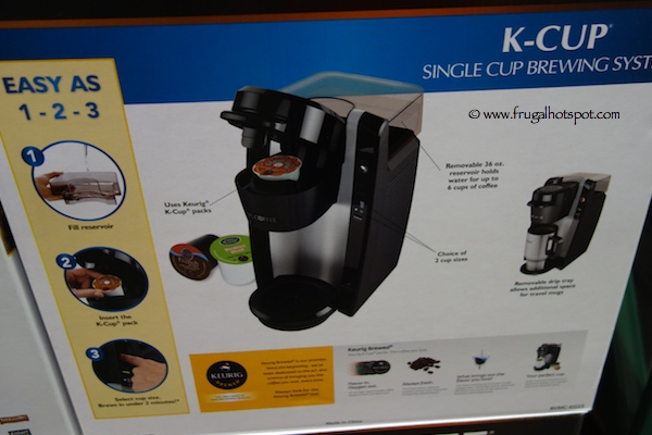 Mr. Coffee K-Cup Single Cup Brewing System Costco