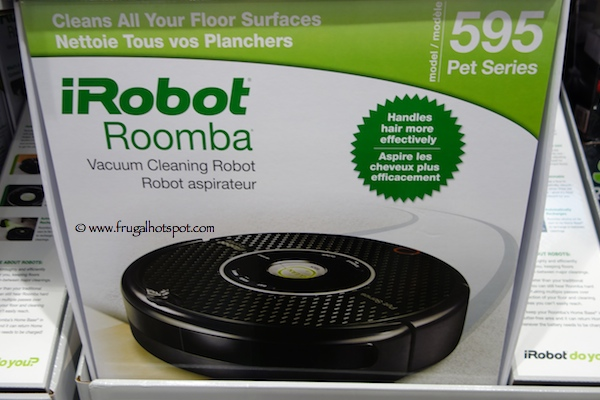 iRobot Roomba 595 Pet Series Vacuum Cleaning Robot Costco