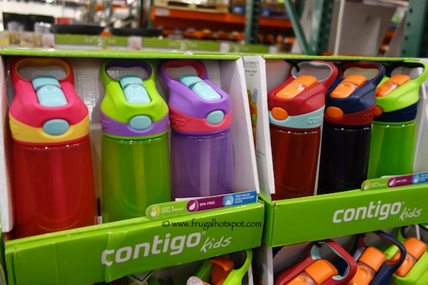Contigo Autospout Kids Striker Water Bottles 3-Pack Costco