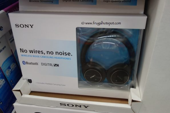 Sony Bluetooth Noise Canceling Headphones (MDRZX750DC) Costco