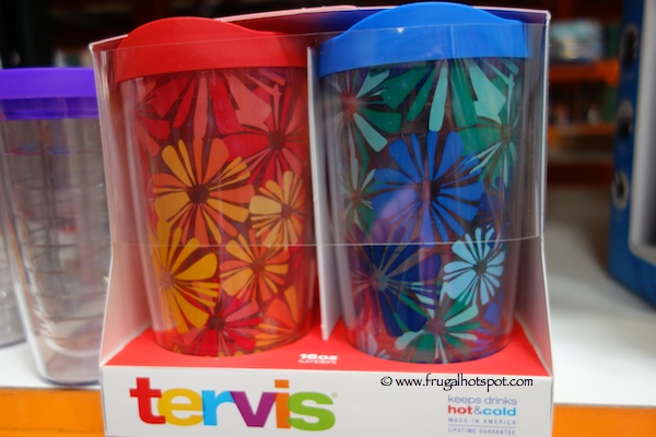 Tervis 4 Pack 16 Ounce Tumbler Set Costco