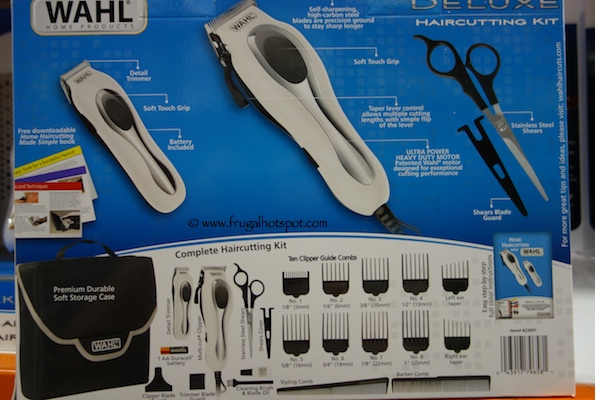 Wahl Deluxe Haircut Kit with Trimmer Costco