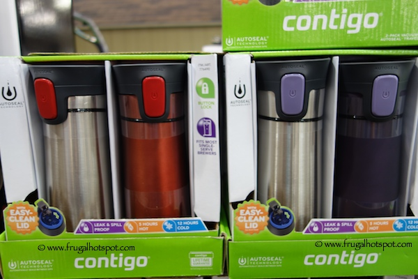 Contigo Pinnacle 14 oz Thermal Mug 2-Pack Costco