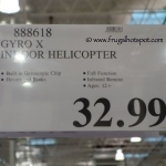 Gyro X Indoor Helicopter Costco Price
