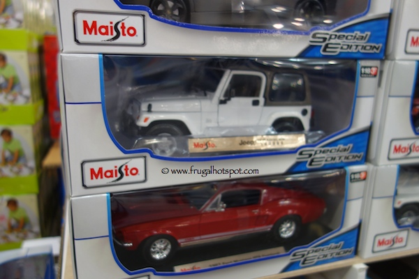 Costco Toy Cars : Maisto diecast cars scale costco frugal hotspot