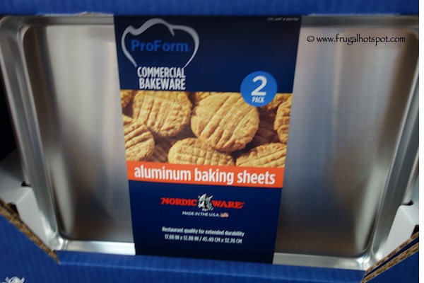 Nordic Ware 2-Pack Aluminum Baking Sheets Costco