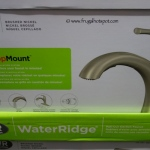 WaterRidge Brushed Nickel Pull-Out Kitchen Faucet Costco