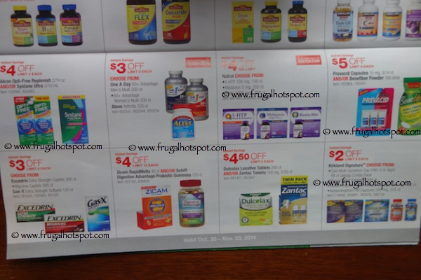 Costco Coupon Book : October 30, 2014 - November 23, 2014. Page 11. Frugal Hotspot