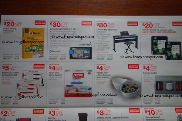 Costco Coupon Book : October 30, 2014 - November 23, 2014. Page 6. Frugal Hotspot