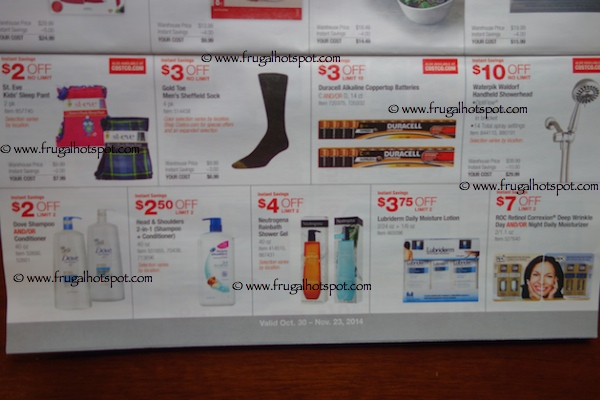 Costco Coupon Book : October 30, 2014 - November 23, 2014. Page 7. Frugal Hotspot