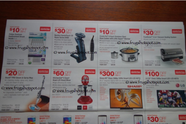 Costco Coupon Book : 10/30/14 - 11/23/14. Page 4. Frugal Hotspot