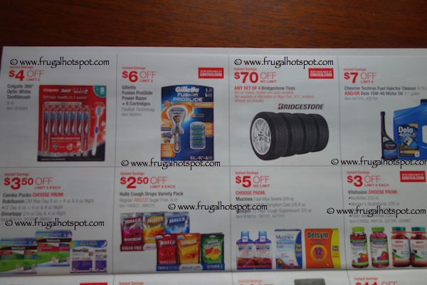 Costco Coupon Book : October 30, 2014 - November 23, 2014. Page 8. Frugal Hotspot