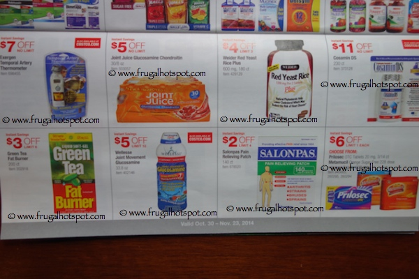 Costco Coupon Book : 10/30/14 - 11/23/14. Page 9. Frugal Hotspot