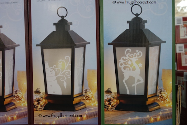 """14.5"""" Decorative Lantern With Battery Operated LED Candle Costco"""