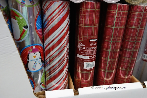 Costco 2014 Christmas Gift Wrap Ribbons Cards Amp More Frugal Hotspot