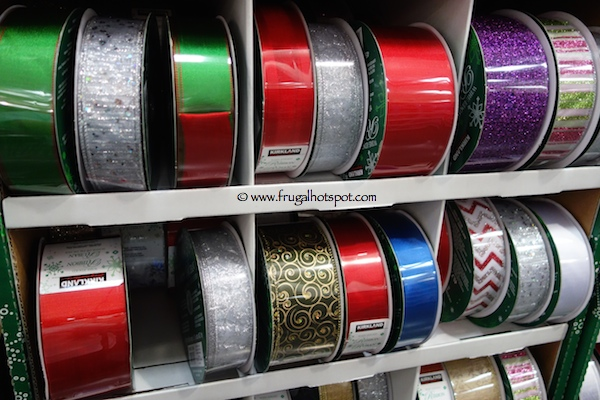 Kirkland Signature Wire Edged Ribbon 50 yards Costco