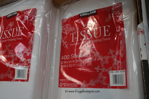 Kirkland Signature White Tissue Paper Costco