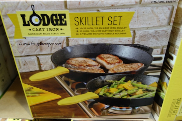 Lodge Cast Iron Skillet Set With Silicone Handles Costco