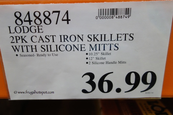 Lodge Cast Iron Skillet Set With Silicone Handles Costco Price