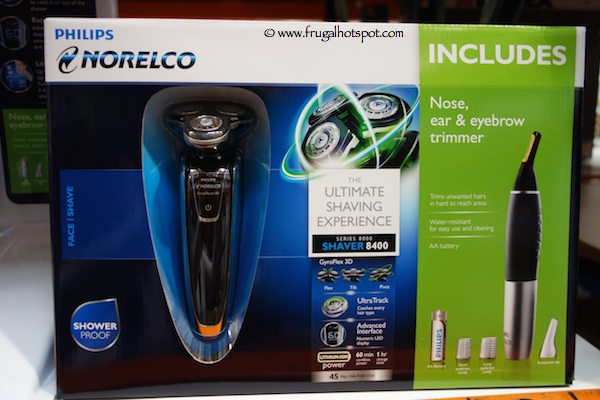 Philips Norelco SensoTouch 3D Shaver 8400 Costco