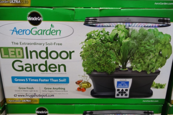 Aerogarden Ultra LED Soil Free indoor Garden Costco