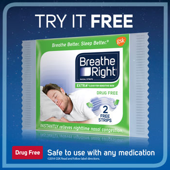Breathe Right Clear Nasal Strips Costco Free Sample