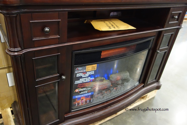 Chimneyfree 64 Media Mantel Electric Fireplace Costco