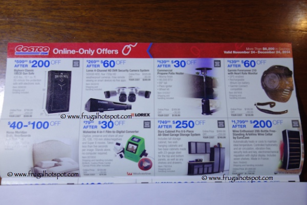 Costco Coupon Book November 24, 2014 - December 24, 2014. Page 12