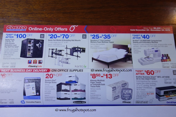 Costco Coupon Book November 24, 2014 - December 24, 2014. Page 14