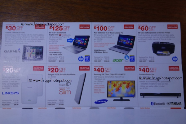 Costco Coupon Book November 24, 2014 - December 24, 2014. Page 4