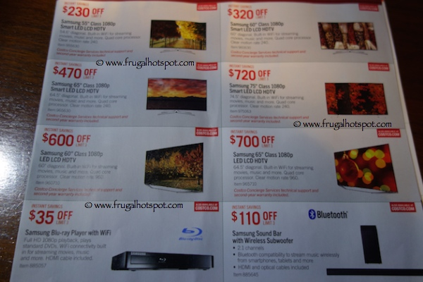 Page 3. Costco Pre-Holiday Savings Event Coupon Book: November 21, 2014 - December 1, 2014.