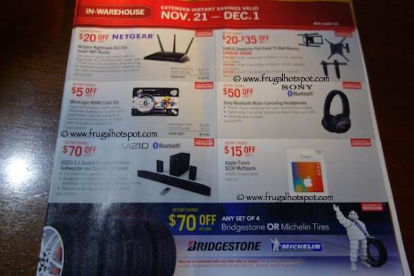 Page 5. Costco Pre-Holiday Savings Event Coupon Book: November 21, 2014 - December 1, 2014.