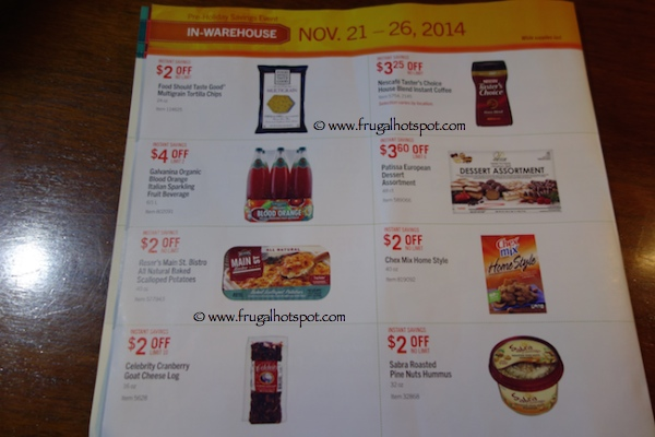 Page 6. Costco Pre-Holiday Savings Event Coupon Book 11/21/14 - 11/26/14.