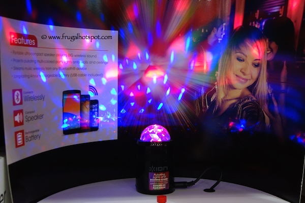 Ion Party Starter Bluetooth Wireless Speaker with Party Lights Costco