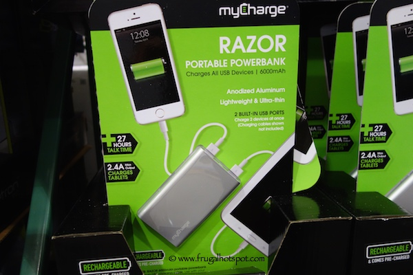 My Charge Razor Portable Powerbank
