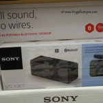 SRS-X3KIT Sony Portable Bluetooth Speaker with Case Costco