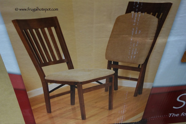 Costco Sale Stakmore Solid Wood Folding Chair with Padded Seat
