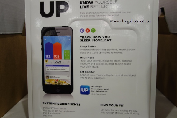 UP by Jawbone Activity Tracker Costco