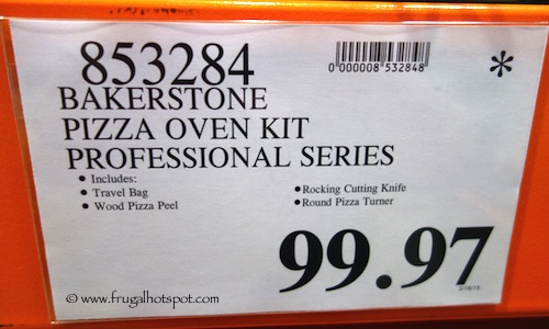 Bakerstone Pizza Oven Kit Professional Series Costco Price