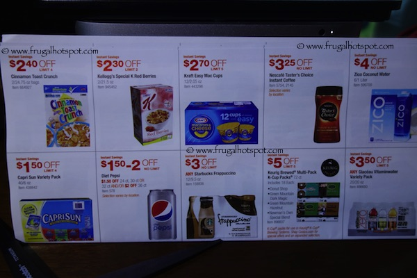Page 10. Costco Coupon Book: December 30, 2014 - January 25, 2015.