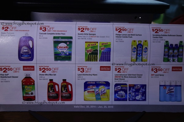 Page 13. Costco Coupon Book: December 30, 2014 - January 25, 2015.